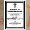 Misa por el hermano Ángel Fernández