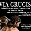 El viernes 15 Vía Crucis de las Cofradías riosecanas