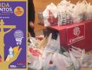 La Escalera se suma a la recogida de alimentos a beneficio de Caritas Parroquial