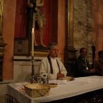 El padre Oterino dijo la misa
