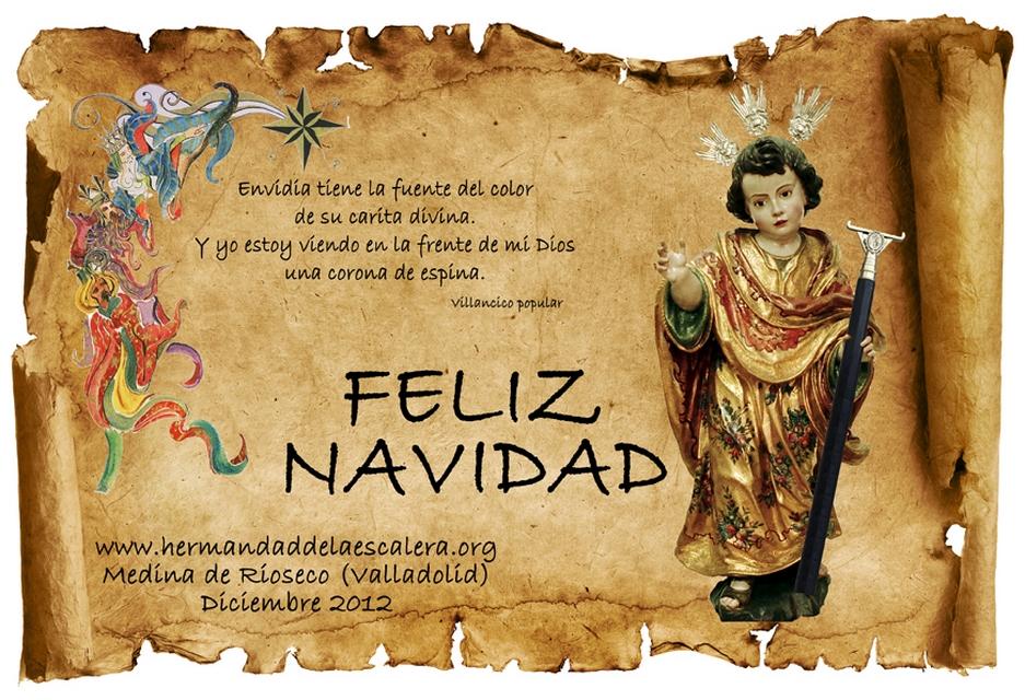 Felicitaciones Antiguas Navidad.Felicitaciones De Navidad De La Hermandad
